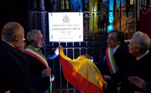 intitolazione biblioteca comunale Palermo a Leonardo Sciascia