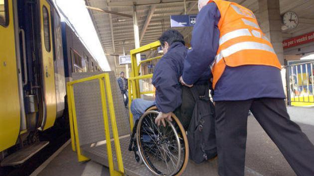 treni e disabilità