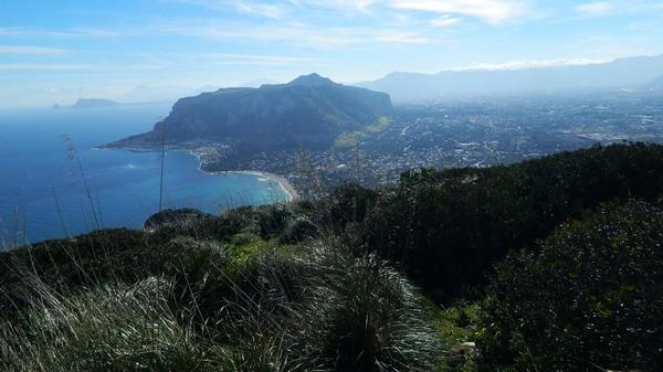 vista panoramica da Monte Gallo