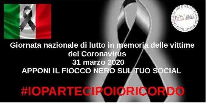 giornata nazionale vittime coronavirus