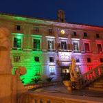 Per la Festa della Repubblica Palazzo delle Aquile si illumina col tricolore