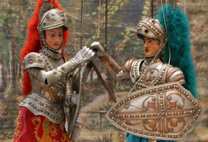 Alla scoperta di Carlo Magno e il restauro di Orlando: gli appuntamenti on line del teatro Pasqualino