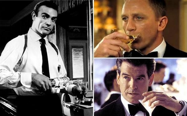James Bond e Martini