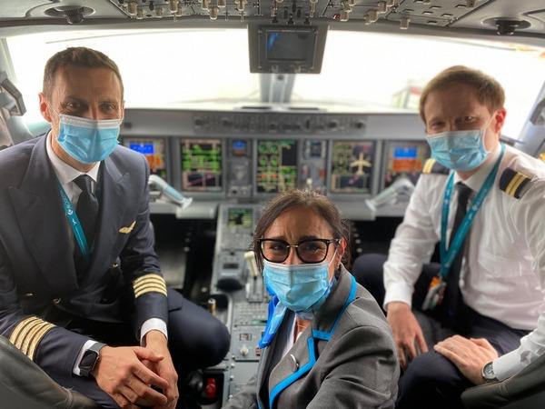 Equipaggio Air Dolomiti FI-PA-FI