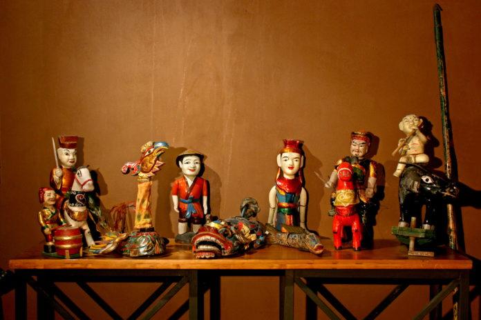 Marionette acquatiche Vietnam