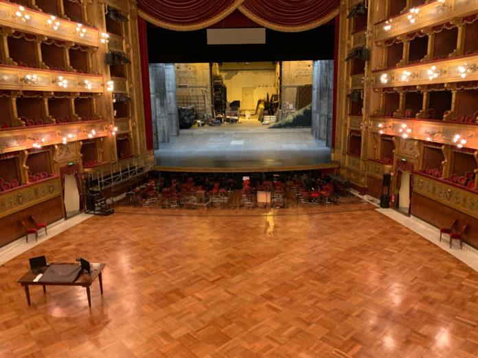 teatro massimo - interno