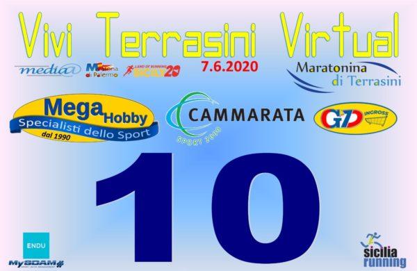 Podismo: domenica 7 giugno la Vivi Terrasini Virtual