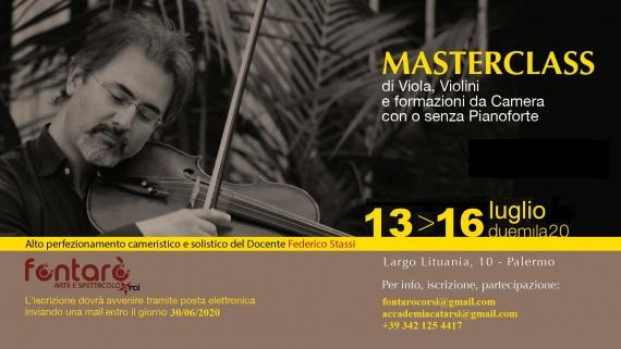 Masterclass Maestro Federico Stassi