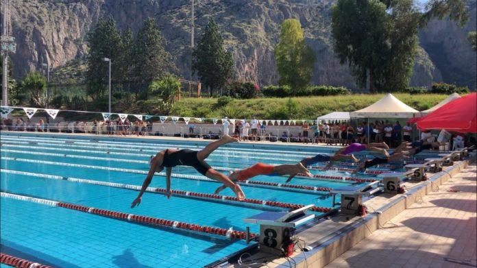 campionati nuoto - piscina comunale - palermo
