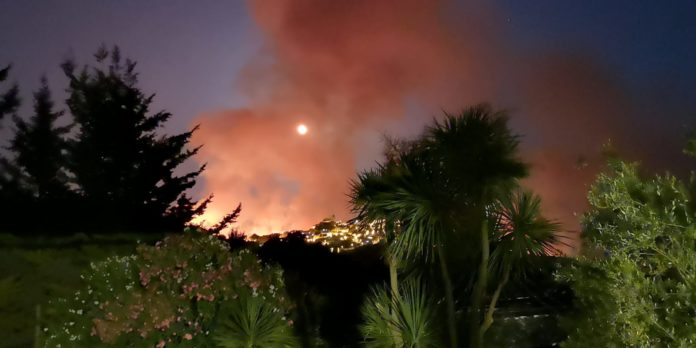 incendi a giuliana