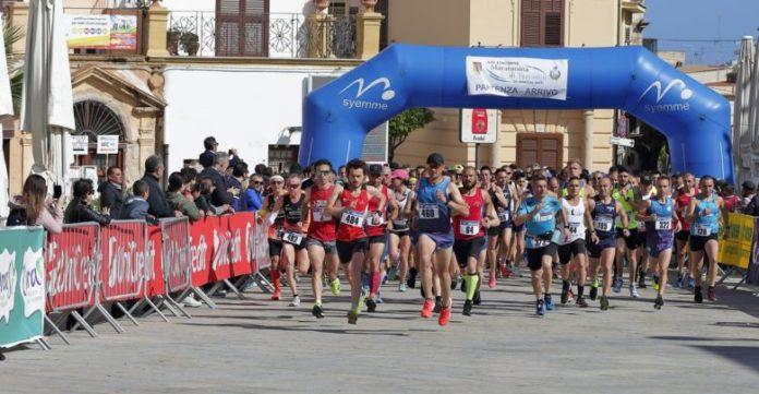 Partenza-Maratonina di Terrasini