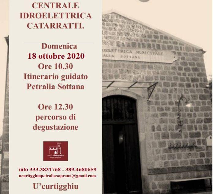 visita alla centrale elettrica Petralia Sottana
