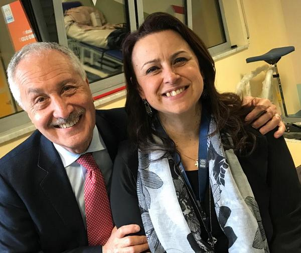 Prof. Giusepe Vita e Daniela Lauro