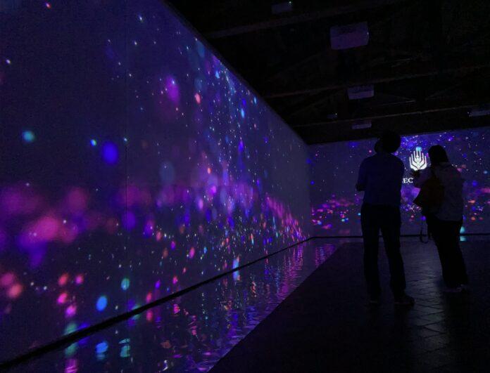 Enna - museo del Mito, sala multimediale