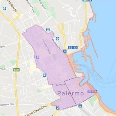 mappa palermo restrizioni anti covid