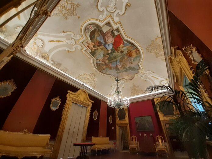 villa niscemi - interno - illuminazione