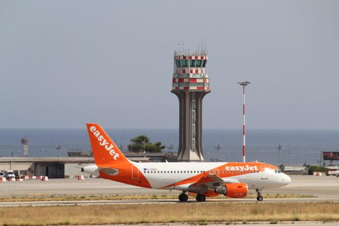 easyjet - aeroporto palermo