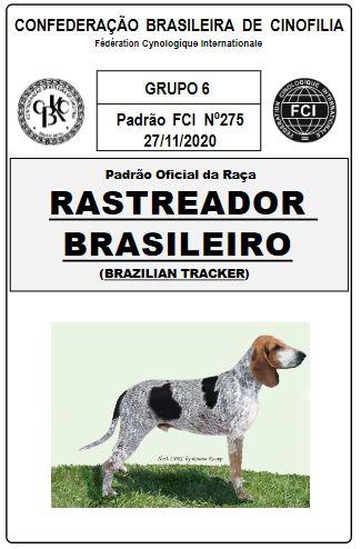 La copertina dello standard sul sito della Confederazione Cinofila Brasiliana