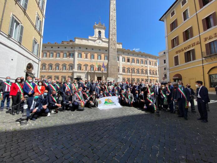 zfm - delegazione sindaci a roma