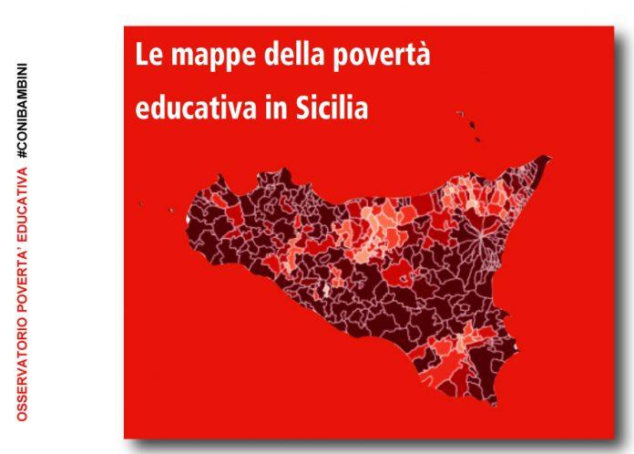 povertà educativa report sicilia