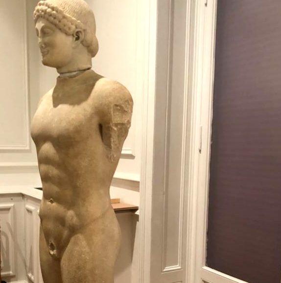 Kouros ad Atene