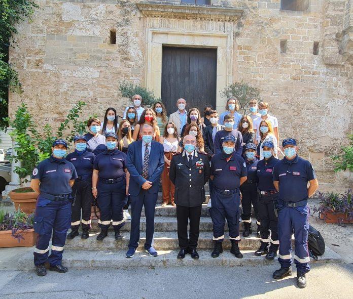 Stage degli studenti al Comando Legione Carabinieri