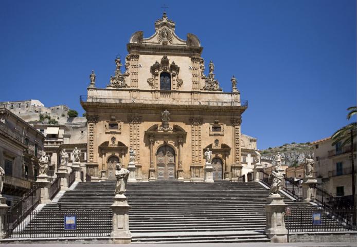 Statue di San Pietro - Modica